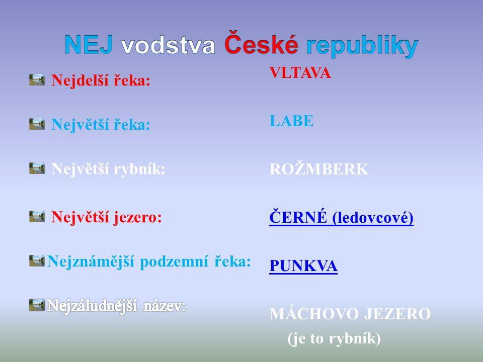NEJ vodstva České republiky