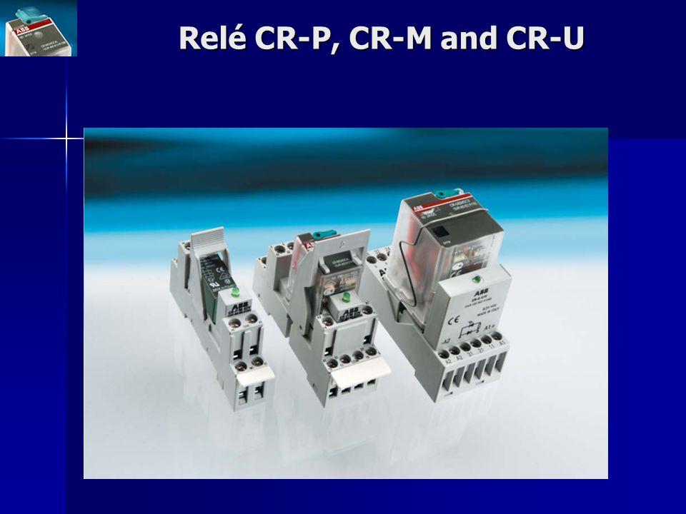 Relé CR-P, CR-M and CR-U
