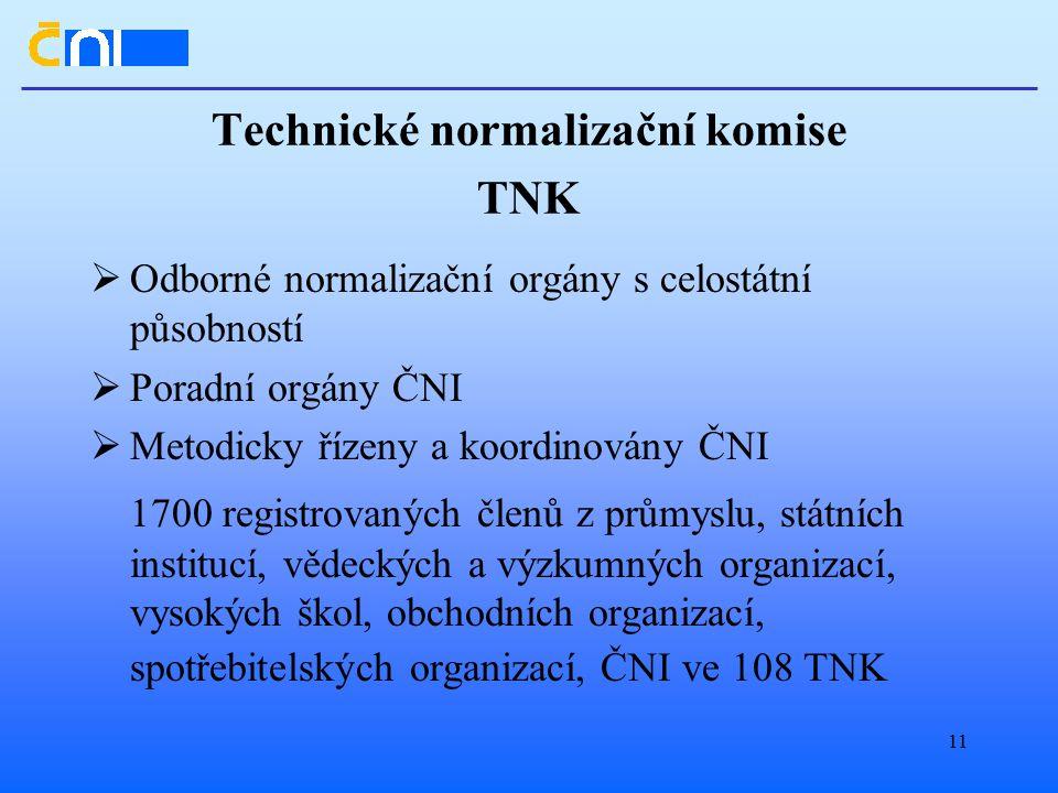Technické normalizační komise TNK