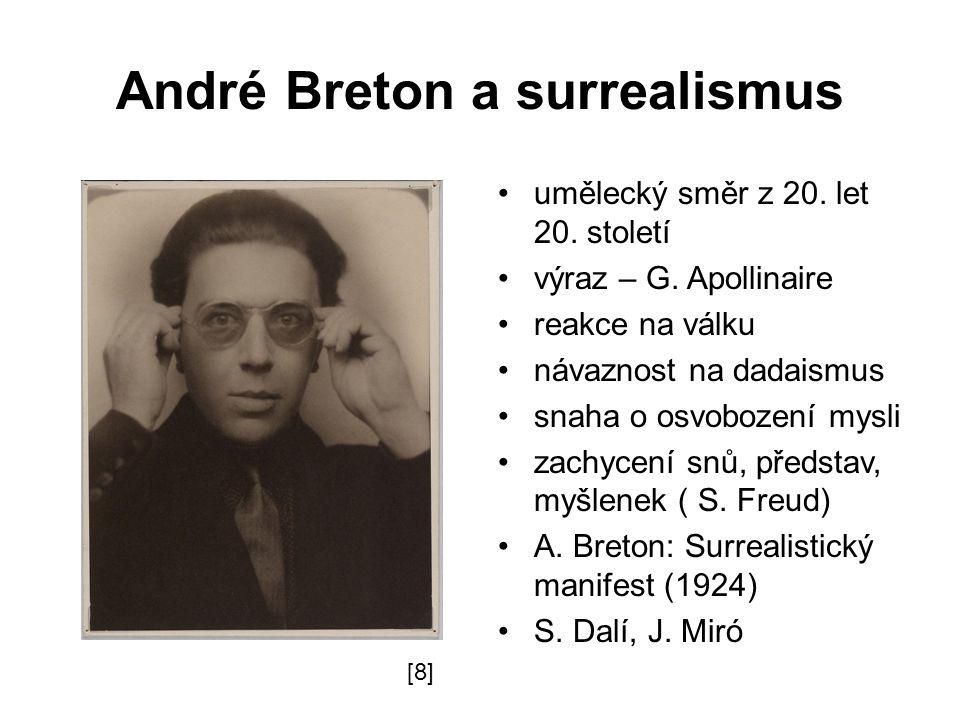 André Breton a surrealismus