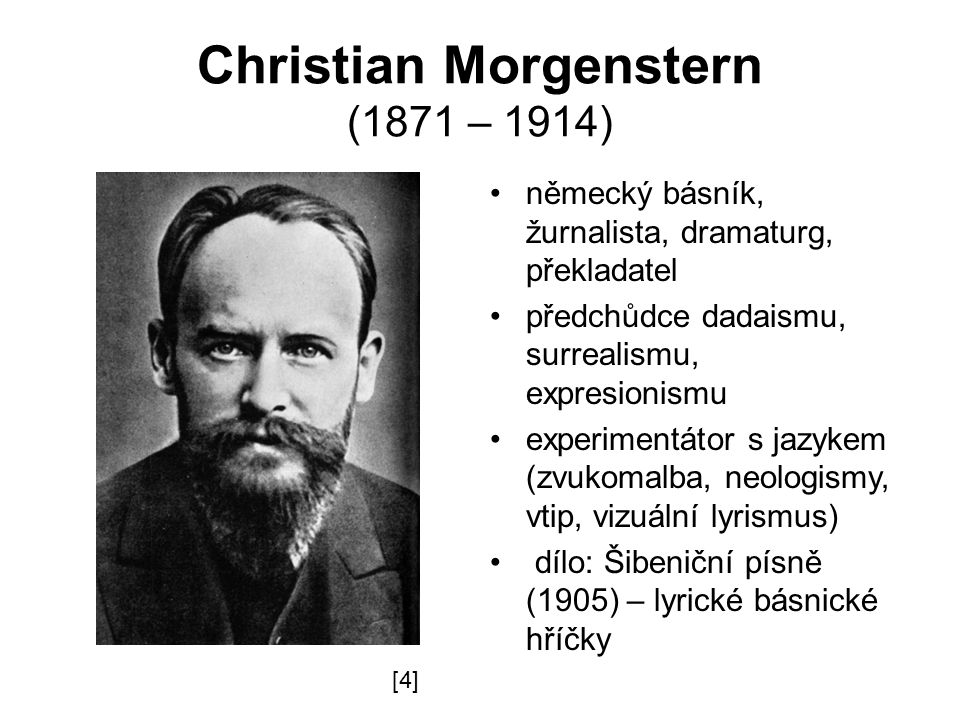 Christian Morgenstern (1871 – 1914)