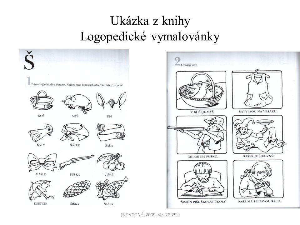 Ukázka z knihy Logopedické vymalovánky
