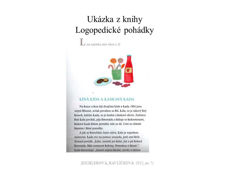 Ukázka z knihy Logopedické pohádky