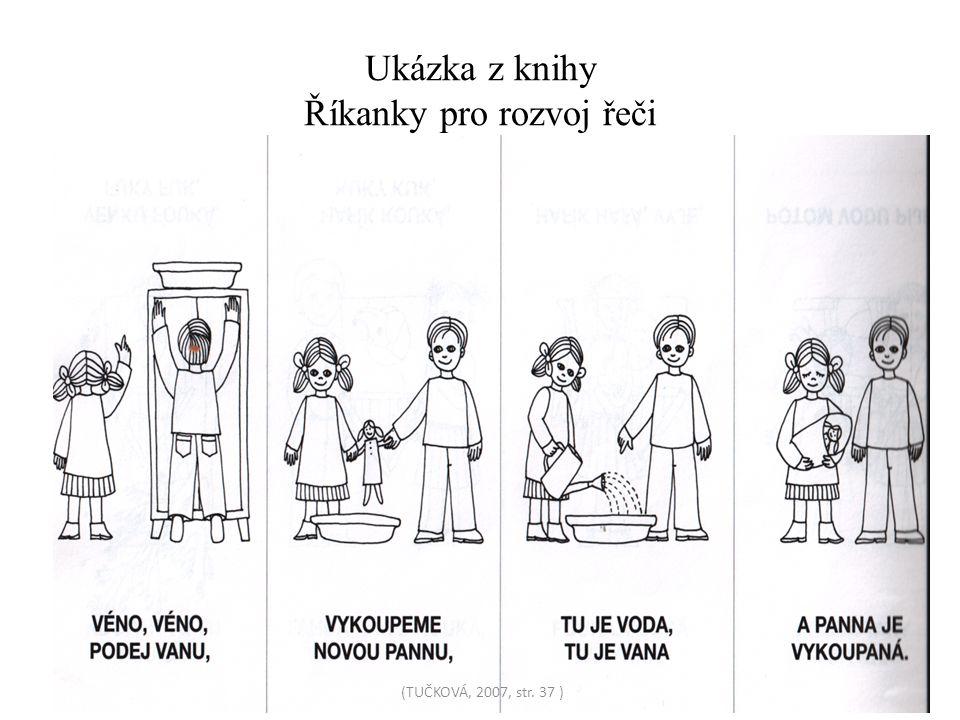 Ukázka z knihy Říkanky pro rozvoj řeči