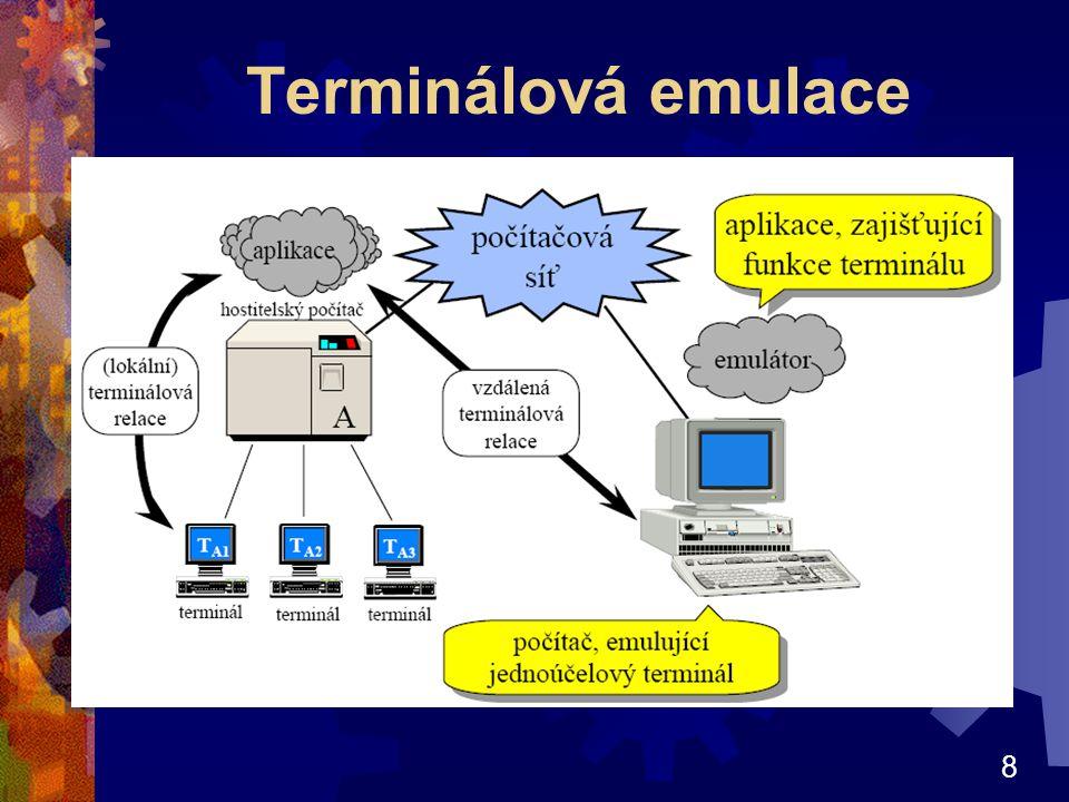 Terminálová emulace
