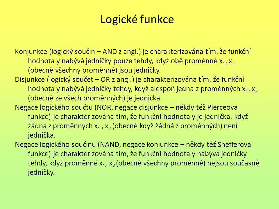 Logické funkce