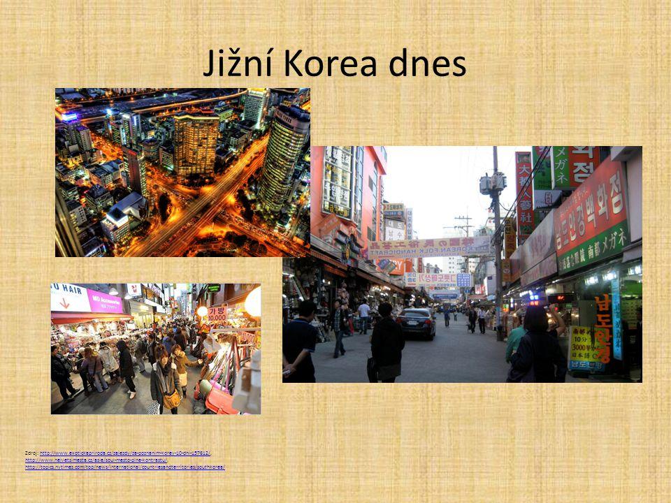 Jižní Korea dnes