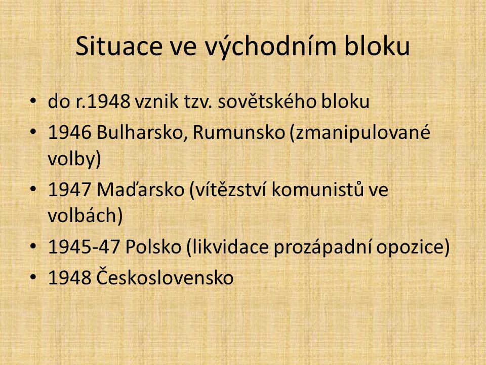 Situace ve východním bloku