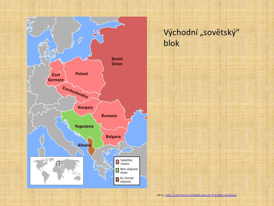 """Východní """"sovětský blok"""