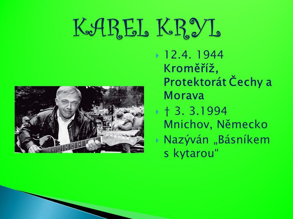 KAREL KRYL 12.4. 1944 Kroměříž, Protektorát Čechy a Morava