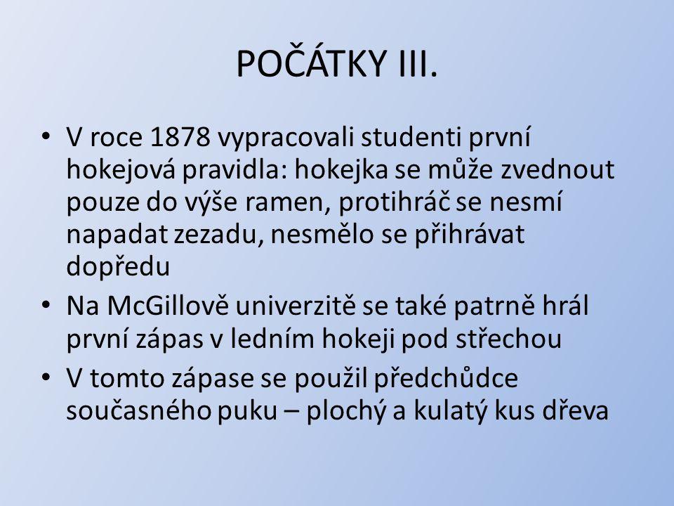 POČÁTKY III.