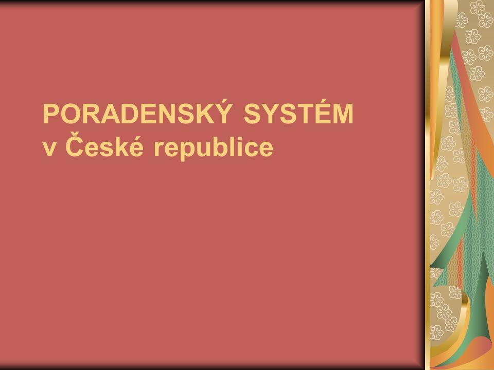PORADENSKÝ SYSTÉM v České republice