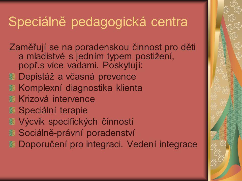 Speciálně pedagogická centra