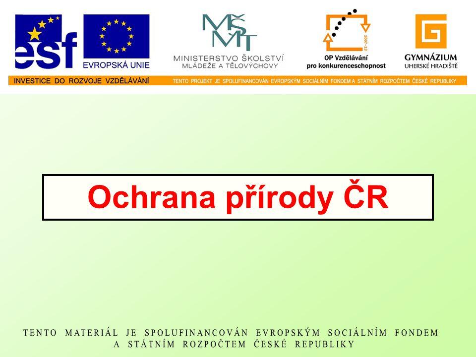 Ochrana přírody ČR