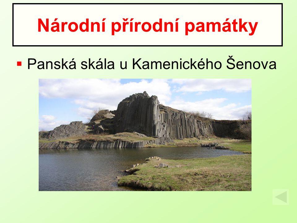 Národní přírodní památky