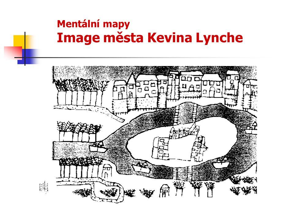 Mentální mapy Image města Kevina Lynche