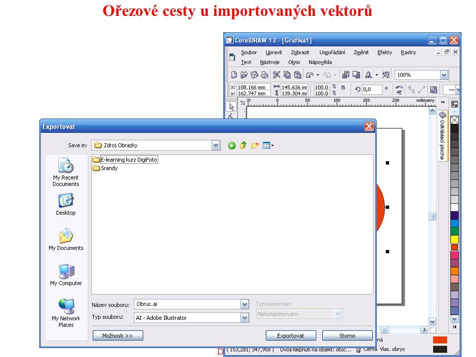 Ořezové cesty u importovaných vektorů