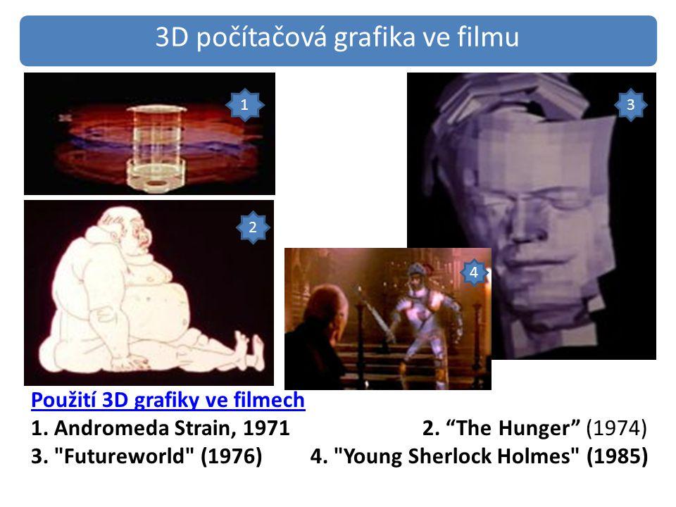 3D počítačová grafika ve filmu