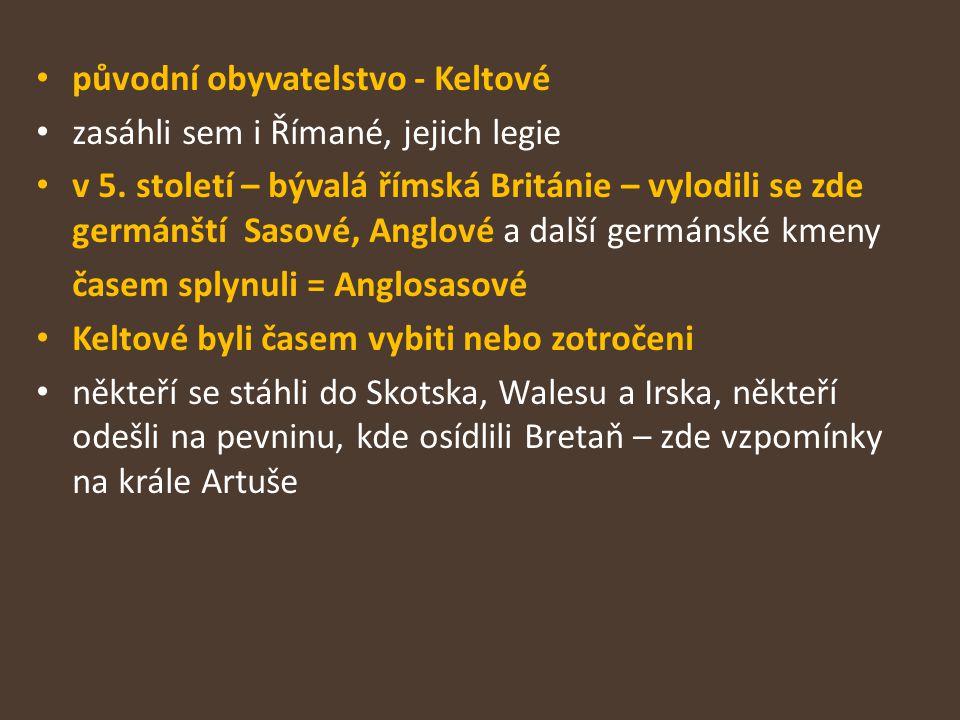 původní obyvatelstvo - Keltové