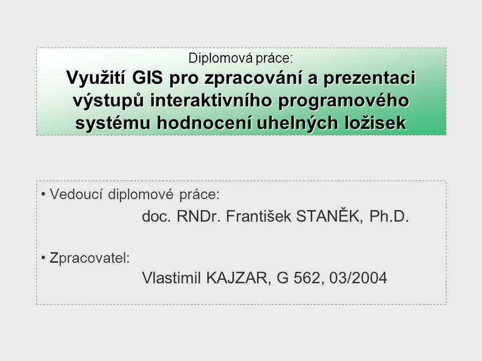 doc. RNDr. František STANĚK, Ph.D.