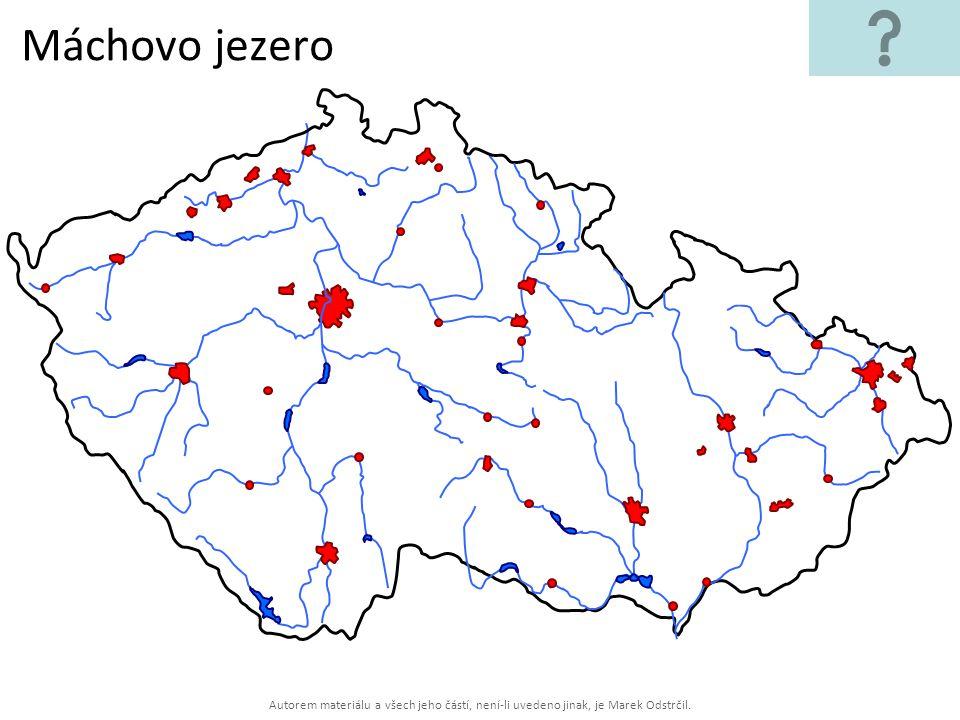 Máchovo jezero Autorem materiálu a všech jeho částí, není-li uvedeno jinak, je Marek Odstrčil.