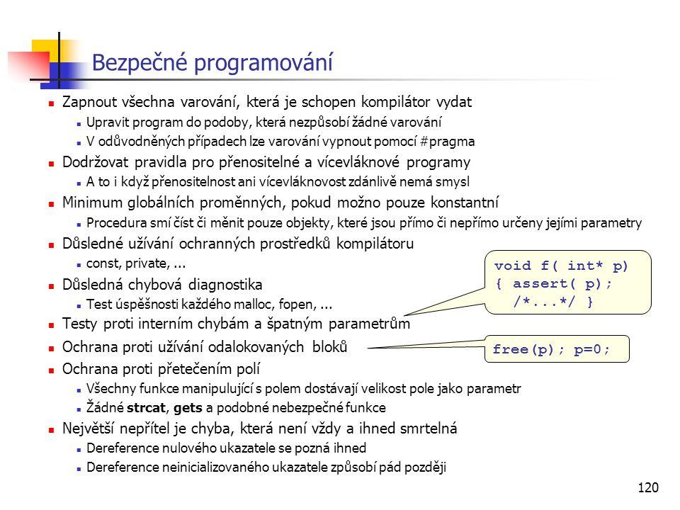 Bezpečné programování