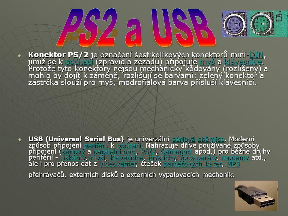 PS2 a USB