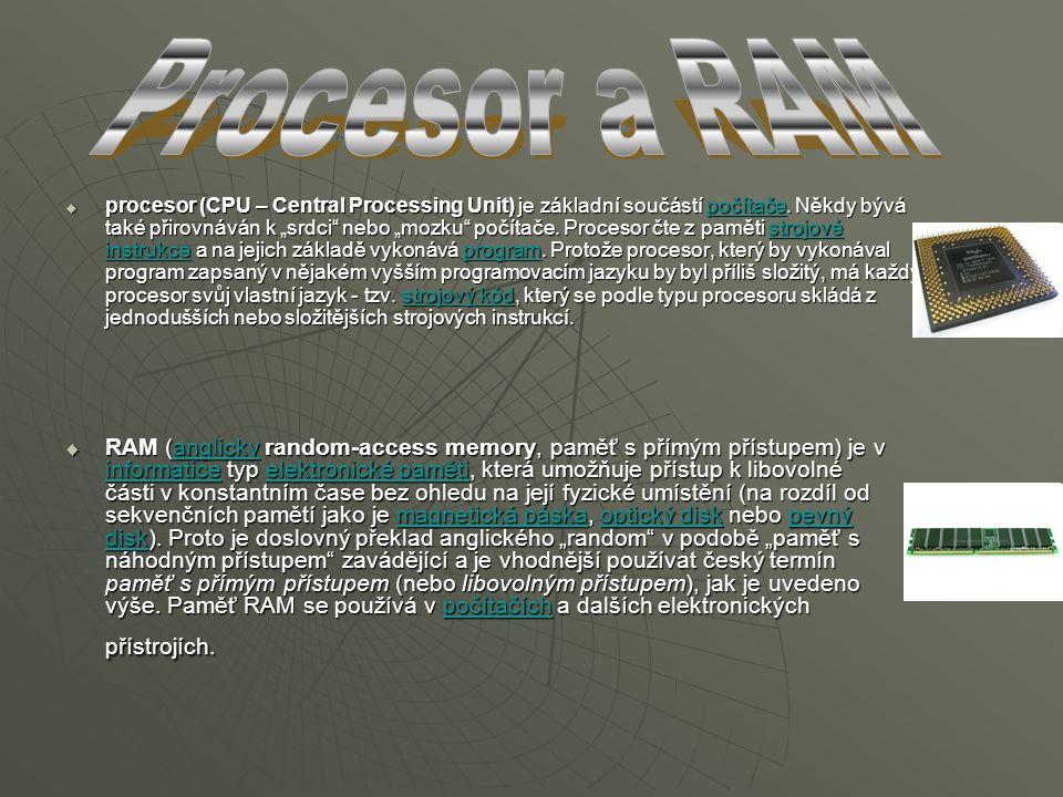 Procesor a RAM