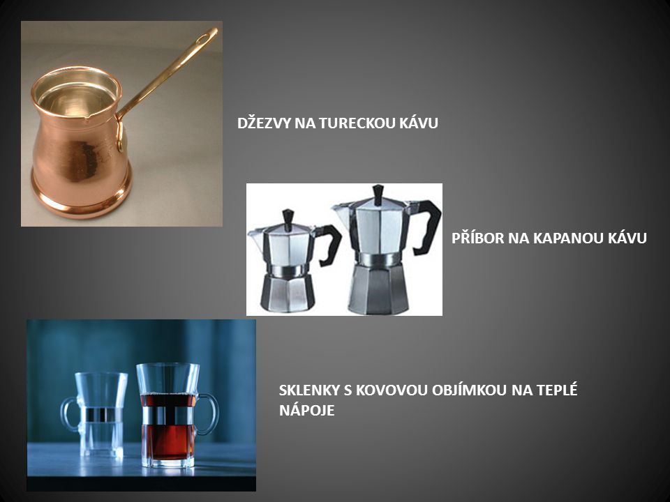 džezvy na tureckou kávu