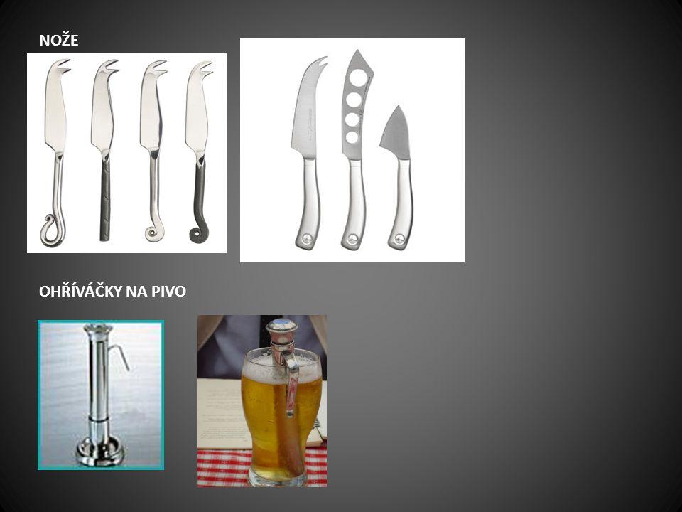 nože ohříváčky na pivo