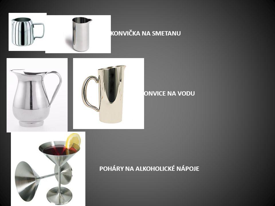 poháry na alkoholické nápoje