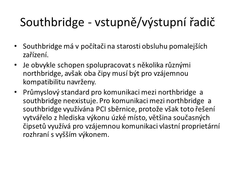 Southbridge - vstupně/výstupní řadič
