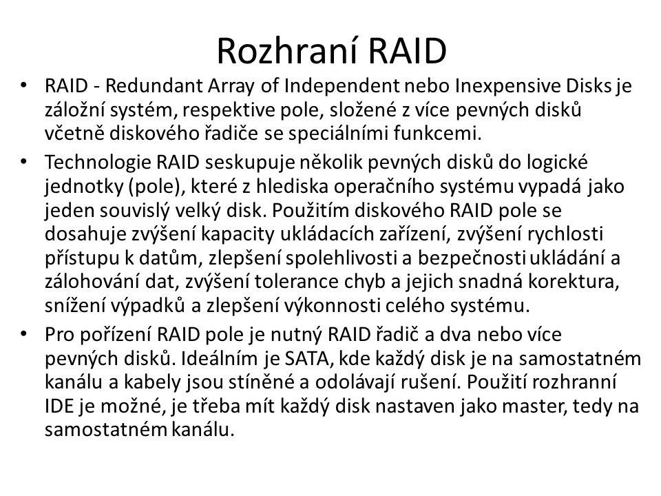 Rozhraní RAID