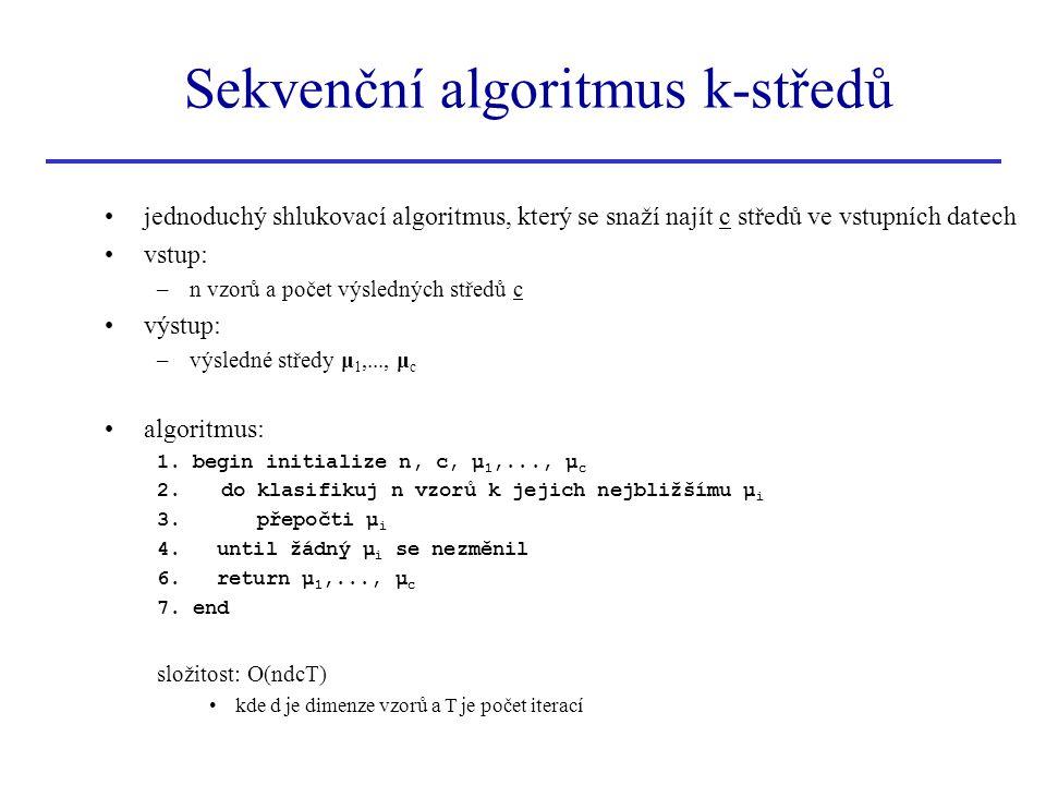 Sekvenční algoritmus k-středů
