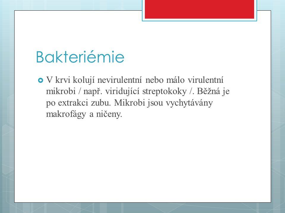 Bakteriémie
