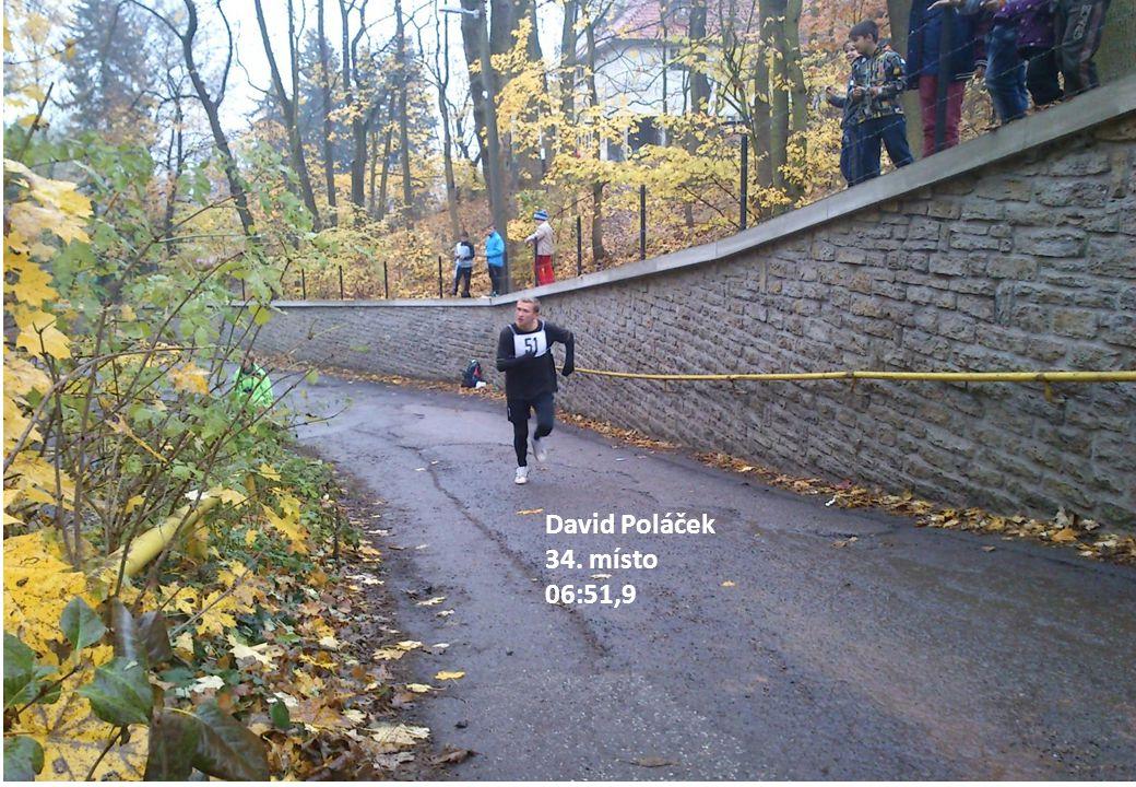 David Poláček 34. místo 06:51,9