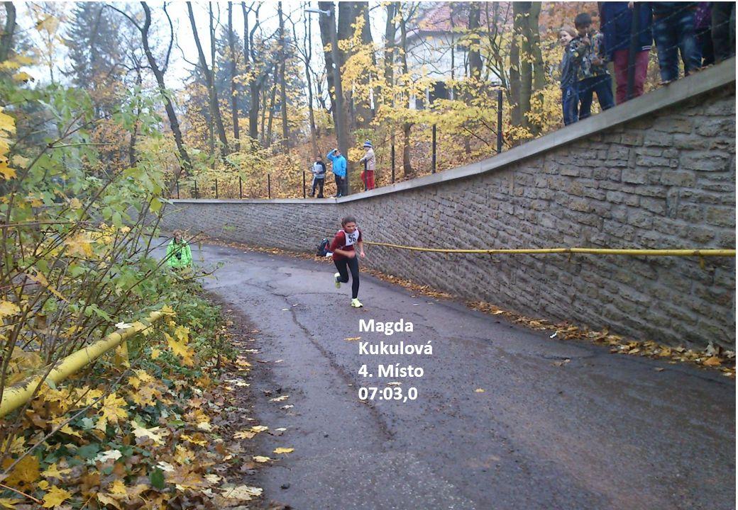 Magda Kukulová 4. Místo 07:03,0
