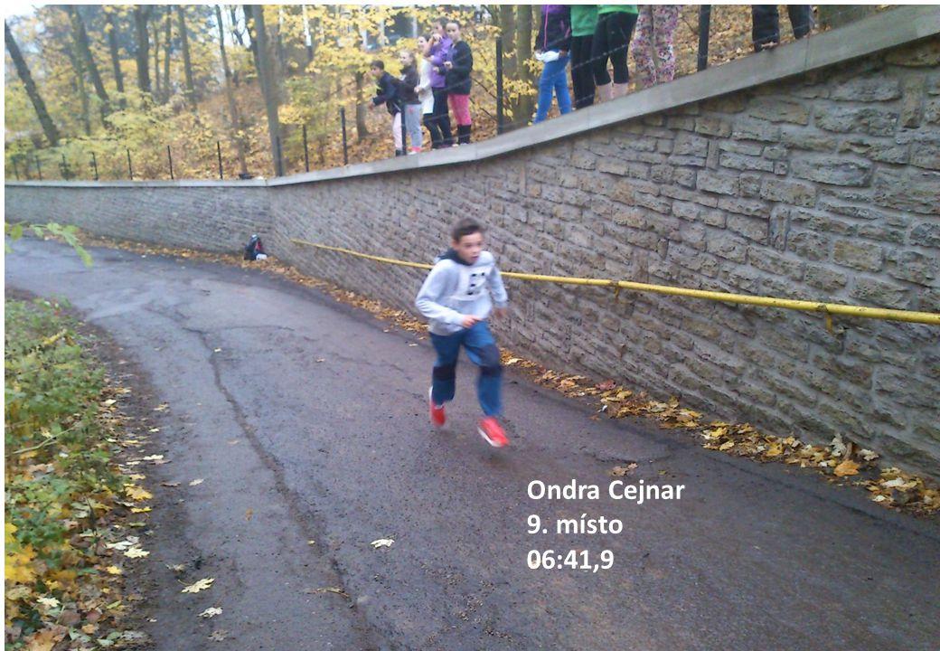 Ondra Cejnar 9. místo 06:41,9