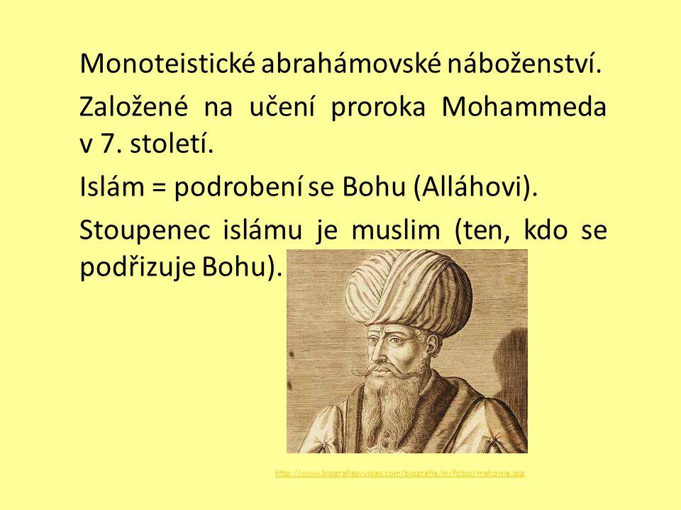 Monoteistické abrahámovské náboženství