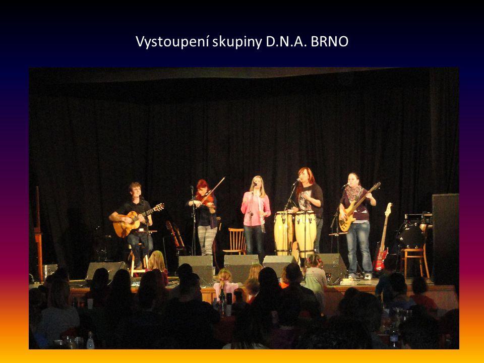 Vystoupení skupiny D.N.A. BRNO