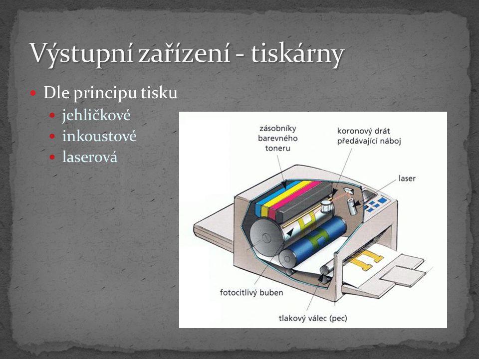 Výstupní zařízení - tiskárny