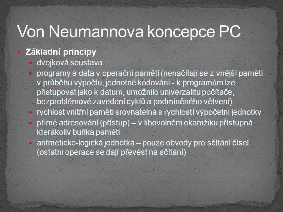 Von Neumannova koncepce PC