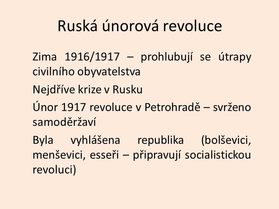 Ruská únorová revoluce