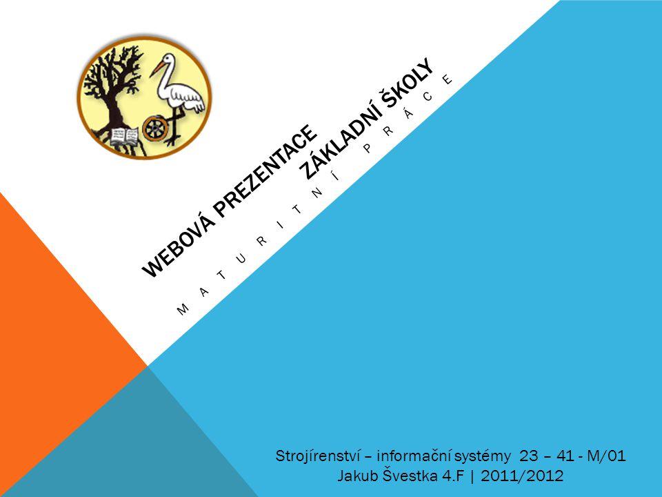 Webová prezentace základní školy