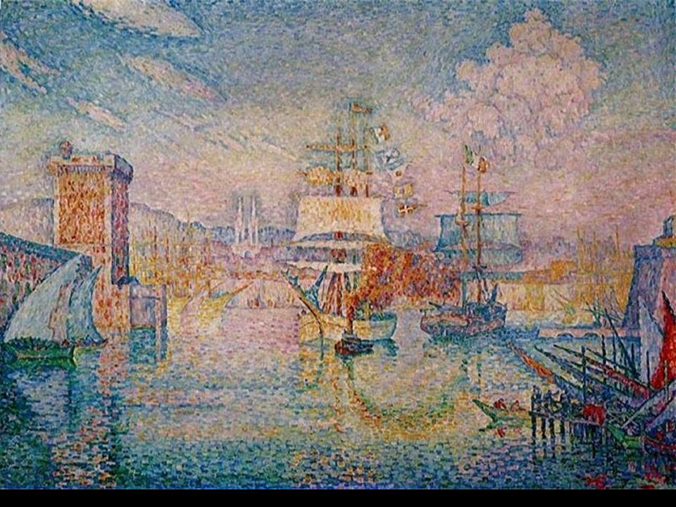 Vjezd do marseillského přístavu