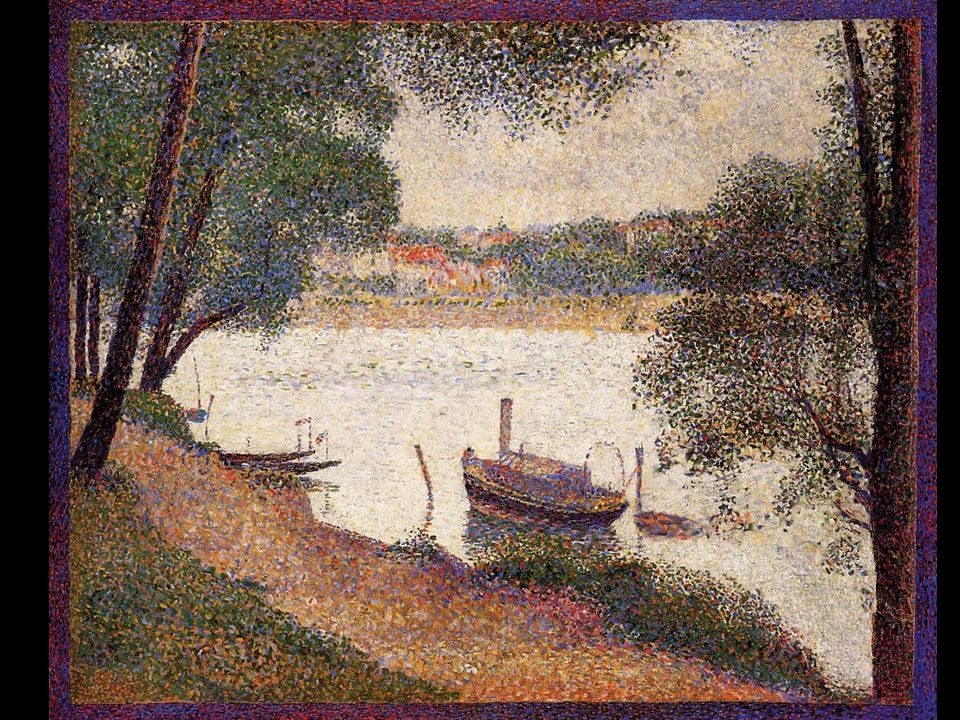 The Seine at La Grande Jatte in the Spring