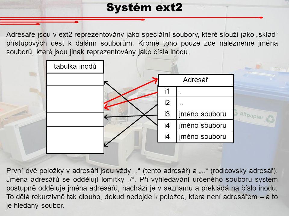 Systém ext2