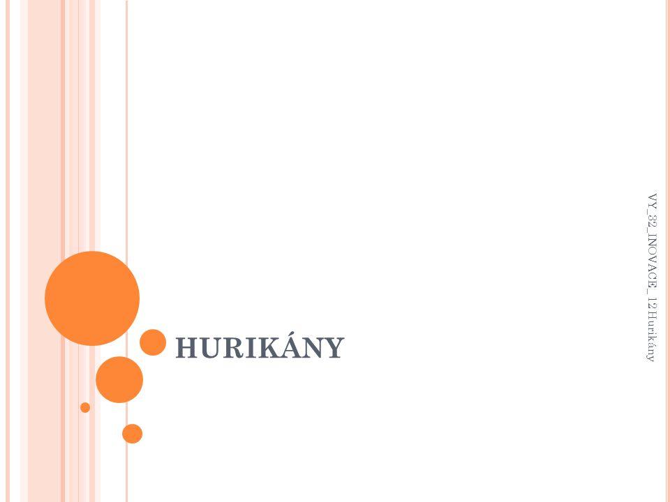 HURIKÁNY VY_32_INOVACE_ 12 Hurikány