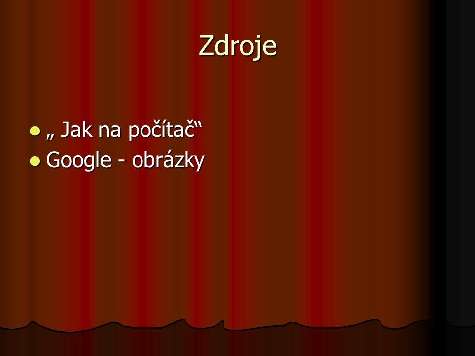 """Zdroje """" Jak na počítač Google - obrázky"""