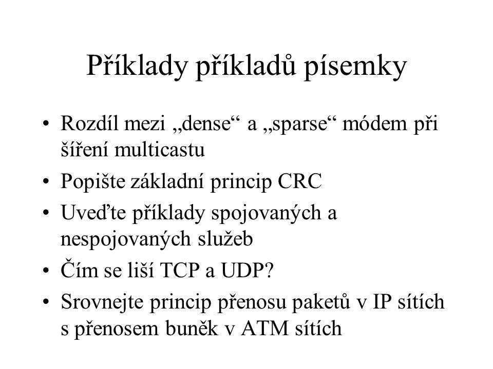 Příklady příkladů písemky